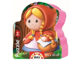 Puzzle Educa Little Red Riding Hood, 24 buc.