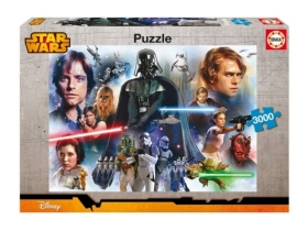 Puzzle Educa Star Wars, 3000 buc.