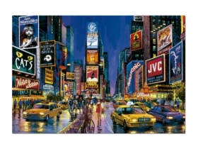 Educa Times Square, New York neon puzzle, 1000 darabos