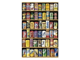 Puzzle Educa Soda cans mini, 1000 buc.