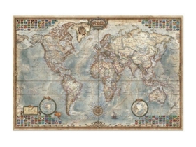 Puzzle Educa World Map, 4000 buc.