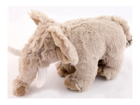 Animăluț din plus, elefant, 23 cm