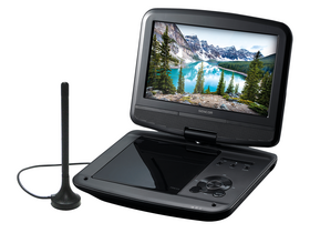 Tragbarer DVD-Player Sencor SPV 7926T mit 9-Zoll-LCD-Display