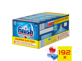 Finish Classic GigaPack Spülmaschinentabs-Pack, 192 Stk.