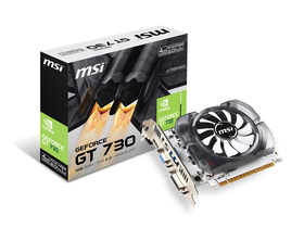 Placa video MSI nVidia N730-4GD3V2 4GB GDDR3 128bit PCIe