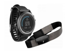Смарт часовник Garmin Fénix 3, HRM (Heart Rate), Сив