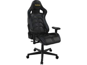 Kring Racer II Gaming szék, PU, FeketeFehér