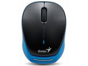 Genius MicroTraveler 9000R black-blue notebook miš, crno-plavi