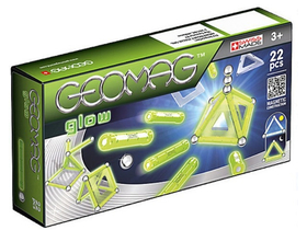 Geomag Set 22 piese magnetice fluorescente