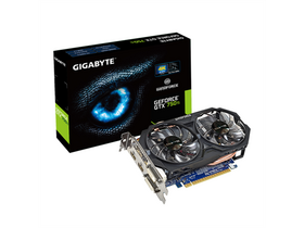 Placă video Gigabyte GTX750 Ti OC 2GB
