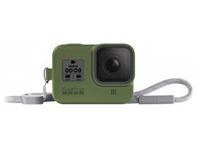 GoPro seeve + lanyard (HERO8 Black) turtle green (AJSST-005)