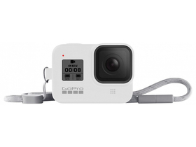 GoPro seeve + lanyard (HERO8 Black) White Hot (AJSST-002)