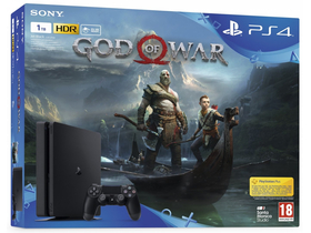 PlayStation® PS4 1TB Slim + God of War softver