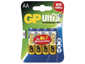 GP Ultra Plus alkali Batterieen LR6 (AA) 4 Stücke