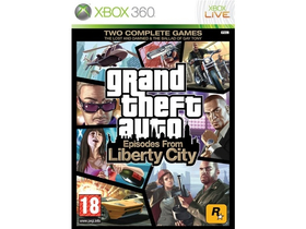 Игра Grand Theft Auto IV Episodes From Liberty City за  Xbox 360