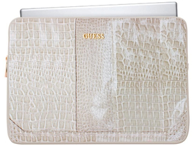 Guess Shiny Croco Computer Sleeve 15""