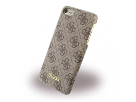 Guess iPhone 7 4G Uptown Hard hátlap, tok, barna