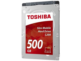 "Toshiba HDD 2,5 "" L200 Mobile Slim 500GB HDWK105EZSTA"