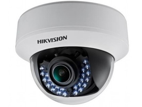 Hikvision DS-2CE56D1T-VFIRF 4in1 kültéri, analóg dómkamera (2MP, 2,8-12mm, IR30m, IP67, BLC)