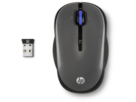 Mouse wireless HP X3300, gri-argintiu (H4N93AA)