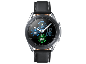 Samsung Galaxy Watch Active 3 eSIM okosóra, 45 mm, ezüst