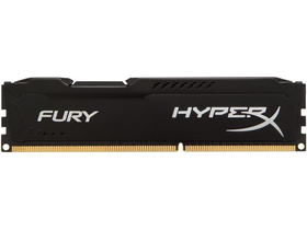 Kingston (HX316C10FB/8) HyperX Fury Black 8GB 1600MHz DDR3