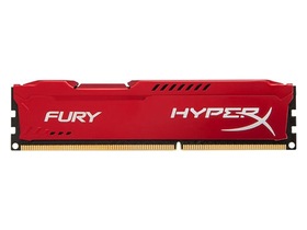 Kingston 8GB 1600MHz CL10 DIMM DDR3 memorija HyperX Fury Red Series