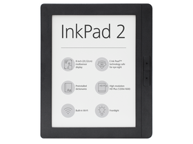 PocketBook InkPad 2 840 ebook čítačka, sivá