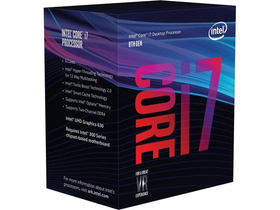 INTEL Core i7-8700 3,2GHz 12MB LGA1151 BOX CPU