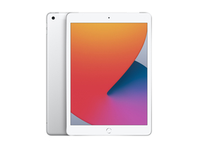 "Apple iPad 8 10.2"" (2020) Wi-Fi + Cellular 128GB, Silver (MYMM2HC/A)"
