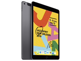 "Apple iPad 7 (2019) 10.2"" Wi-Fi + cellular 128GB, asztroszürke (mw6e2hc/a)"