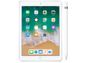 Apple iPad 6 9.7 Wi-Fi 32GB, ezüst (mr7g2hc/a) + Apple pencil