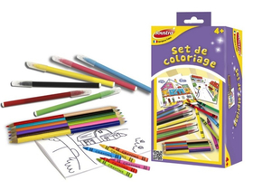 Set de colorat Joustra