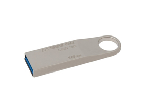 Kingston DataTraveler SE9 (DTSE9G2) 16GB Metallgehäuse USB-Stick, Silbern