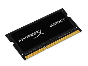 Kingston (HX316LS9IB/4) HyperX Impact Black 1,35V 4GB DDR3 notebook memória