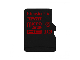 Kingston microSDHC karta 32GB Class3 + SD adapter