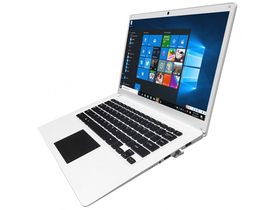 Notebook Alcor Snugbook Q1411S 14.0˝,alb+ Windows 10 Home (tastatura HU)