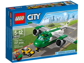LEGO ® City Avion de marfa pe aeroport 60101