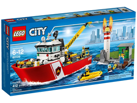LEGO® City Salupa de stins incendii 60109