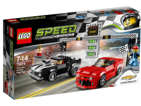 LEGO® Speed Champions Chevrolet Camaro Drag Race 75874