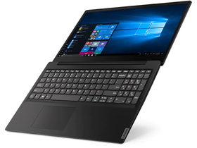 Lenovo IdeaPad S145-15API 81UT00DLHV notebook, fekete + Windows10