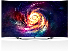 Телевизор извит UHD 3D SMART  LED  LG 65EC970V