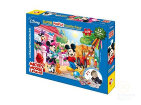 Lisciani - Mickey Clubhouse Color Plus puzzle s fixy