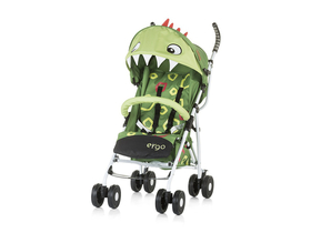Chipolino Ergo sport Kinderwagen, Green Baby Dragon 2019