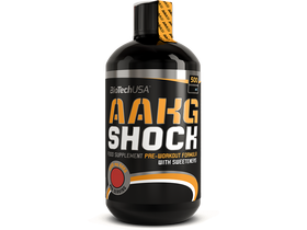 BioTech USA AAKG Shock Extreme, 500 ml