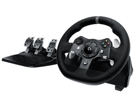 Logitech G920 Driving Force Racing Wheel  zaXBOX One in PC