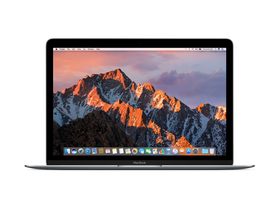 "Apple MacBook 12"" (2017) m3 1.2GHz,8GB,256GB,HD 615, magyar (HUN) bill., asztorszürke (mnyf2mg/a)"