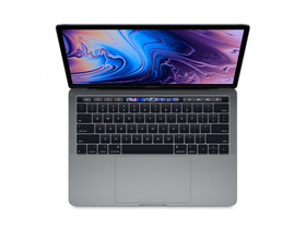 "Apple MacBook Pro 13"" Touch Bar/2.4GHz/Intel Core i5/256GB/Intel Iris Plus Graphics 655/ (HUN) клавиатура, space grey"