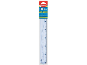 Liniar din plastic Maped GRAPHIC 30 cm