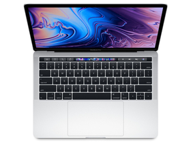 "Apple MacBookPro MWP72MG/A 13"" Touch, QC i5, 2GHz, 512GB, ezüst"